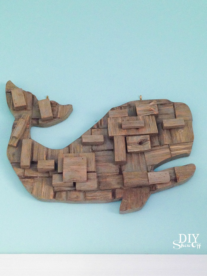 This driftwood whale is adorable...wanted to bring it home.