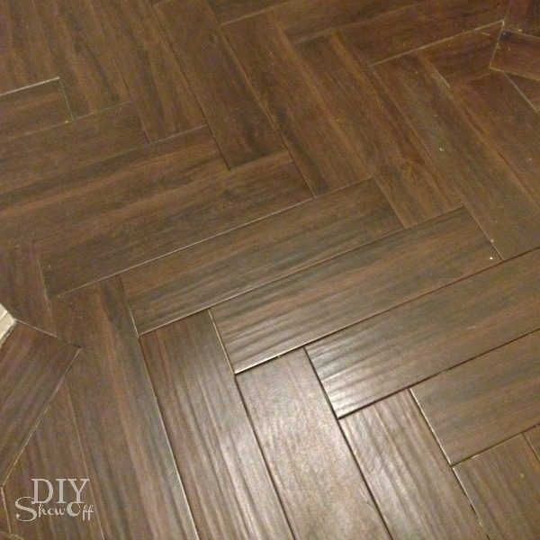 Black Walnut Porcelain Floor Tile