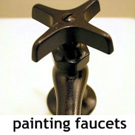painting-bathroom-faucets