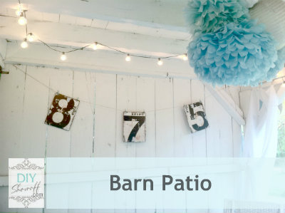 barn patio makeover