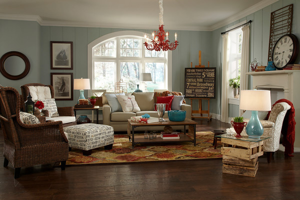 Remember That Cottage Living Room I Designed With Cassity For HGTV Home Shaw Floors