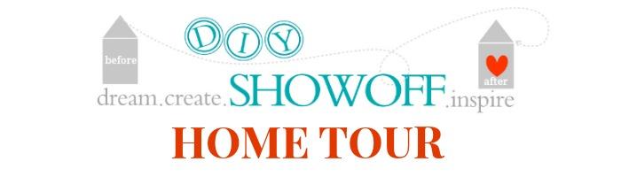 DIY home tour at DIYShowOff