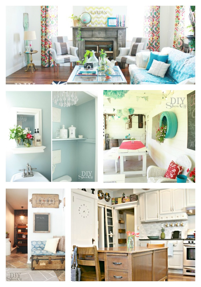 Diy show off a do it yourself home improvement and for Home decor blogs
