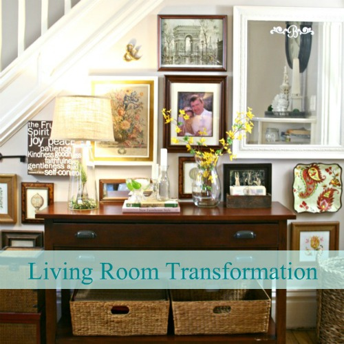 diy show off home tour living room makeover diy show off diy decorating and home. Black Bedroom Furniture Sets. Home Design Ideas