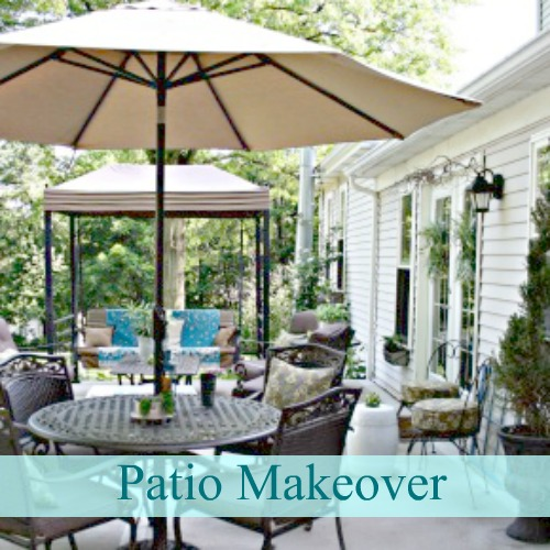 DIY Show Off Home Tour - patio installation