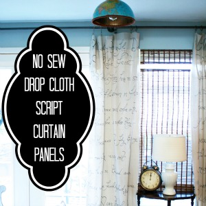 no-sew-dropcloth-curtains
