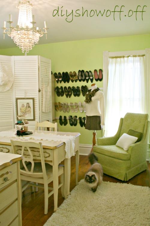 DIY Show Off ~ Dressing Room Reveal/Awesome Closet OrganizationDIY ...