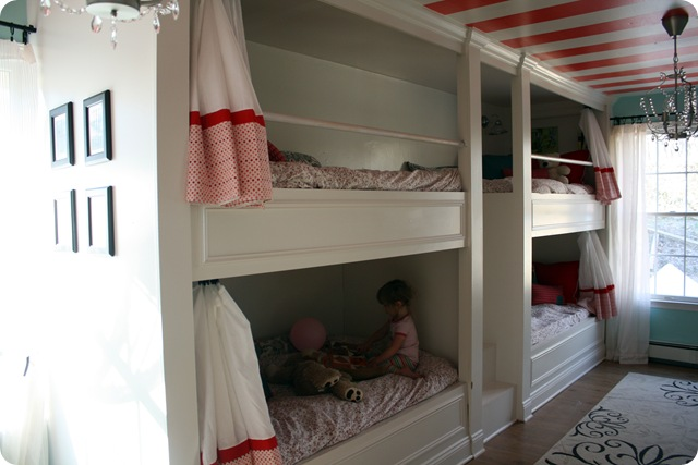 Exceptionnel ... Girl {even The Older Girl} In Me Loved Every Detail. I Canu0027t Even  Imagine Sharing A Room With 3 Siblings But If I Did, This Would Be A Dream  Come True: