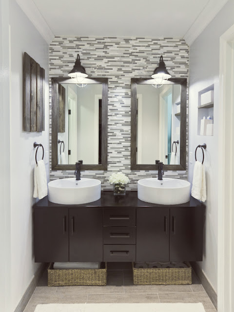diy master bathroom reveal