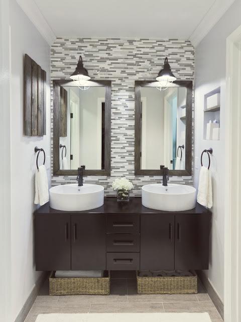 diy master bathroom reveal