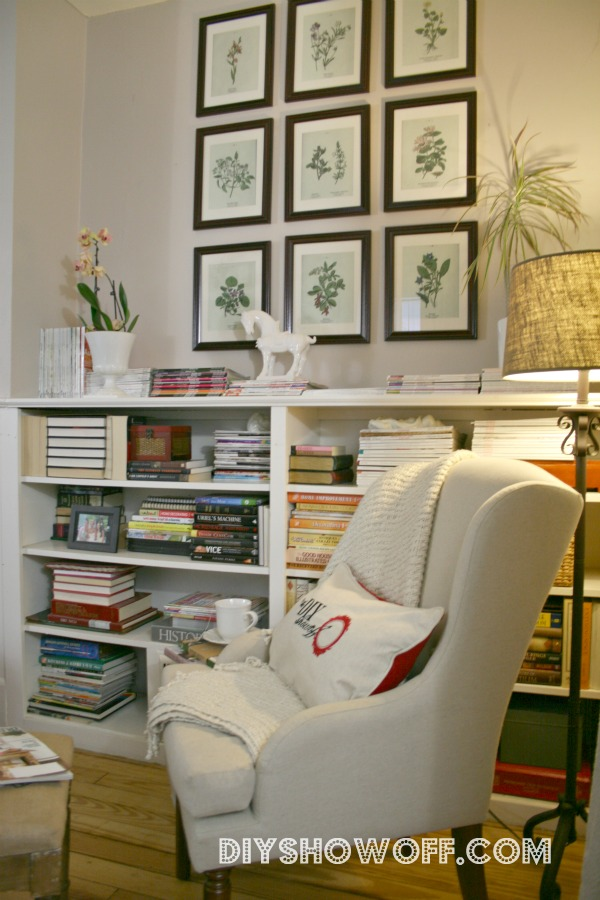 DIY Show Off reading nook