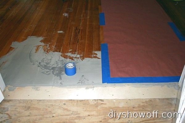 bamboo floor installation, prep work