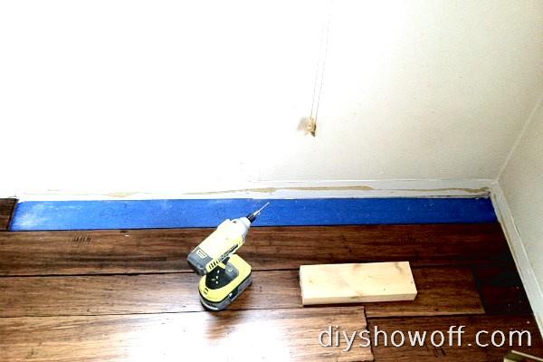 installing bamboo floor