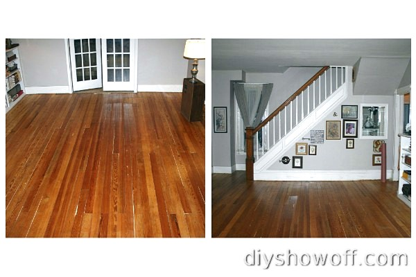 original soft pine wood floors