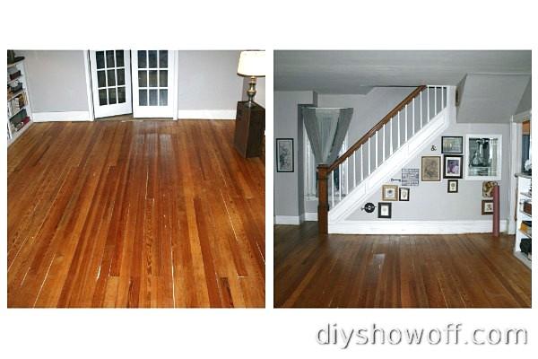 original soft pine wood floors