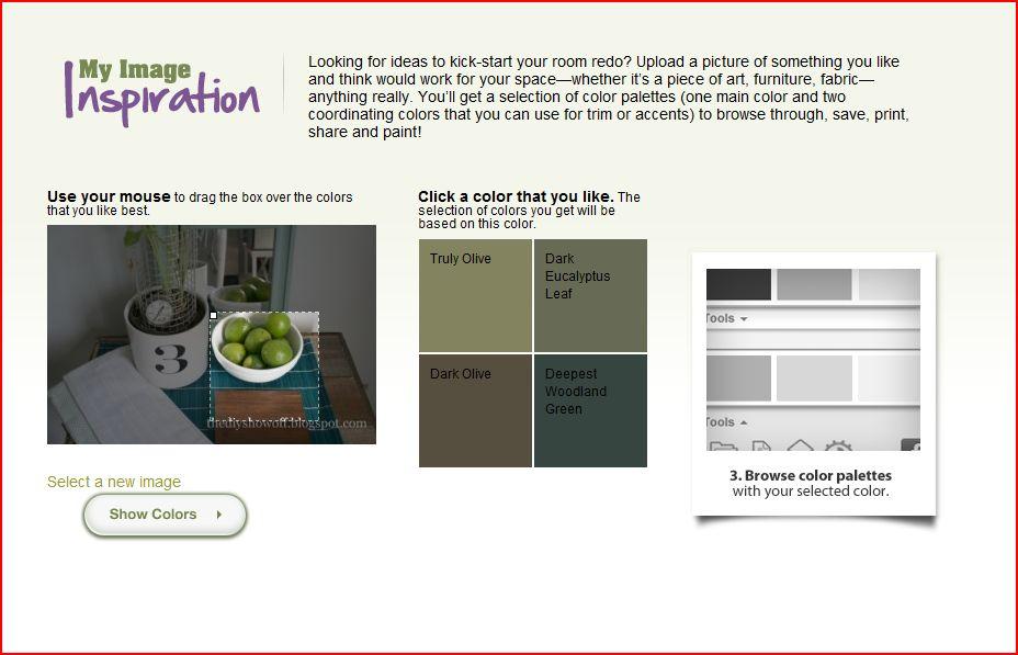 how to choose a paint color, paint color inspiration, paint color tool