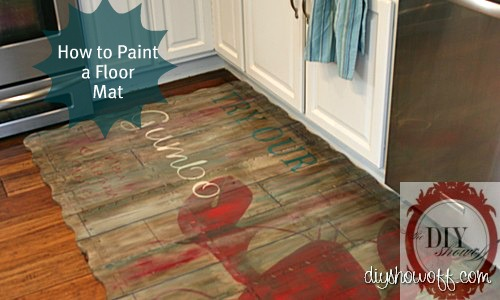 Painted Play Mat DIY Show Off DIY Decorating And Home - Styrofoam floor mats