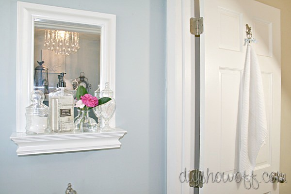 Powder Room Before And After Makeoverdiy Show Off Diy Decorating And Home Improvement Blog