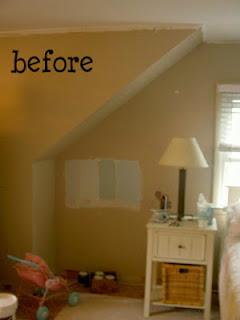 master bedroom nook before