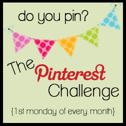 Pinterest Challenge blog linky party