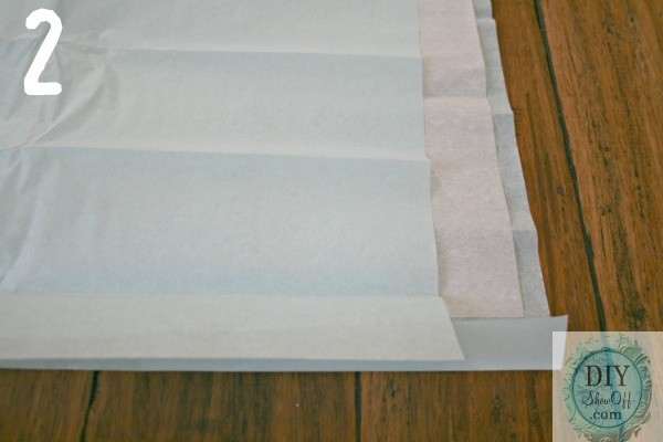 layered tissue paper