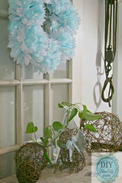 vintage farmhouse spring decor