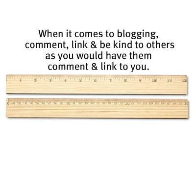 blogging golden rule