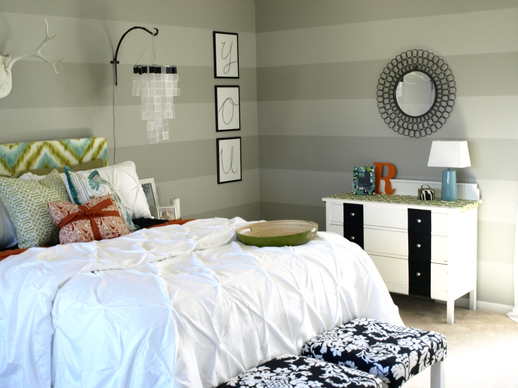 chic bedroom reveal