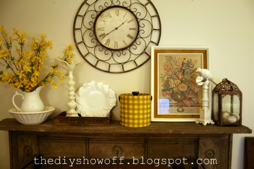 DIY Show Off Spring Decorating