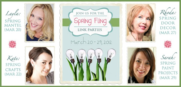spring fling linky party