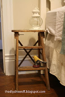 ladder night stand