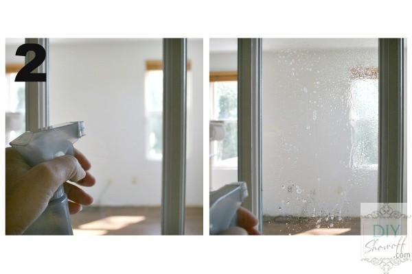 spray glass