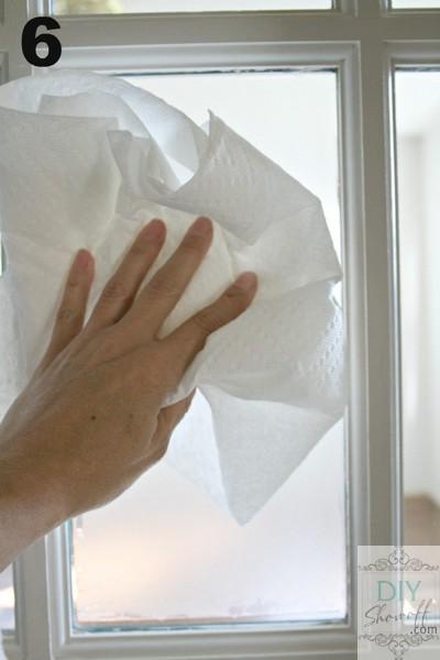 wipe window