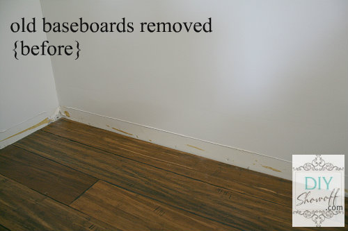 Family Room Baseboard Diy Installation