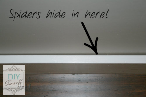 DIY baseboard tutorial