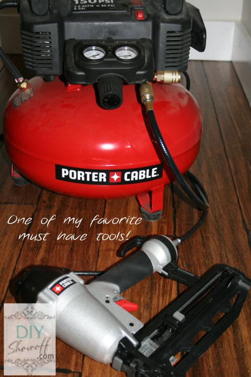 Porter Cable nail gun & compressor
