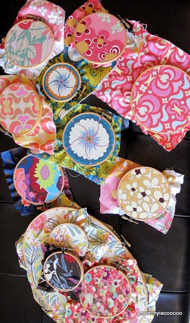 fabric hoop art tutorial