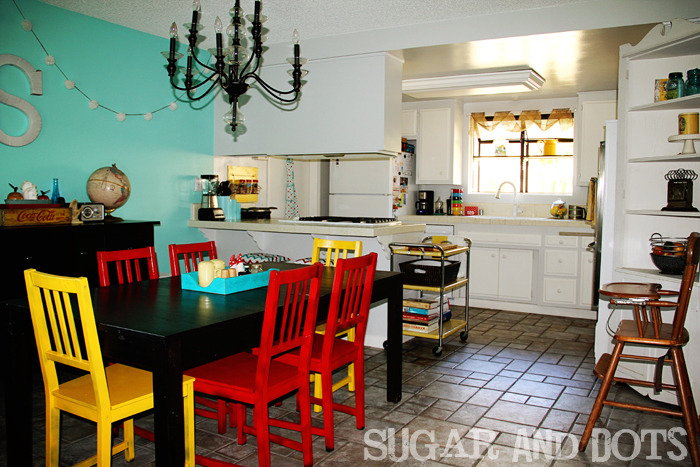 kitchen and dining makeover