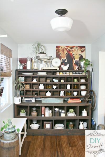 farmhouse butler's pantry