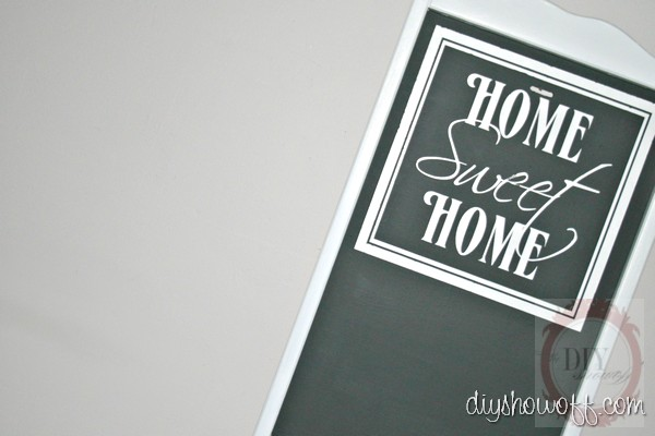 tray to chalkboard tutorial