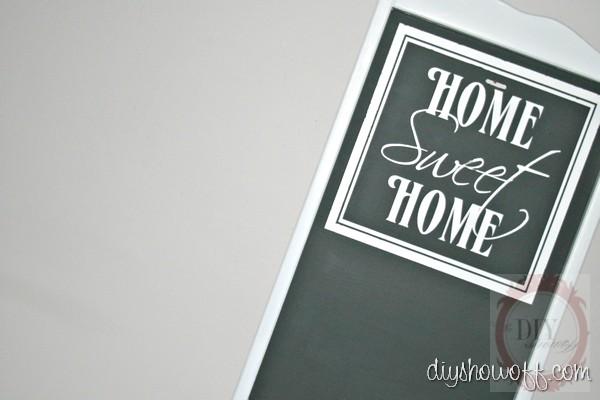 tray to chalkboard tutorial