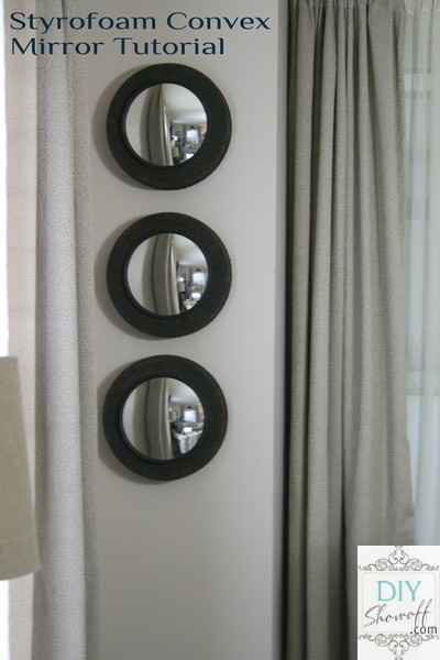 DIY convex mirrors