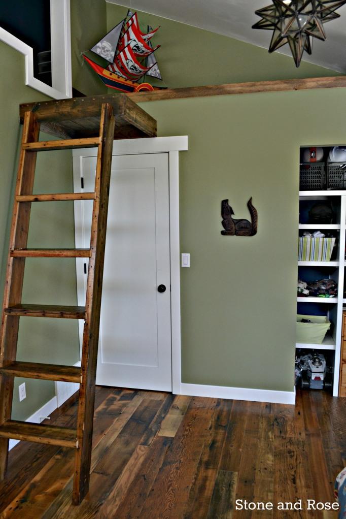 teen boy's room makeover