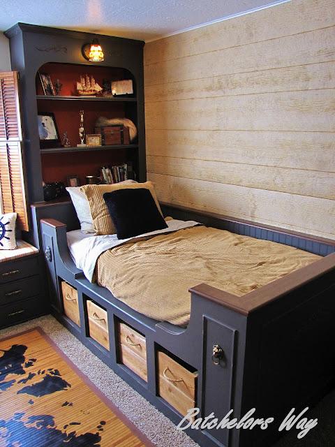 built in bed tutorial