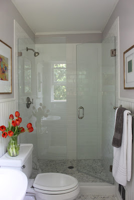 white bathroom after