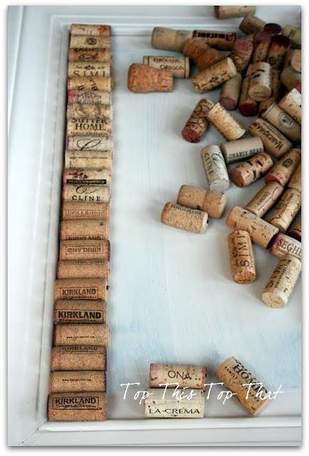 wine cork board how to