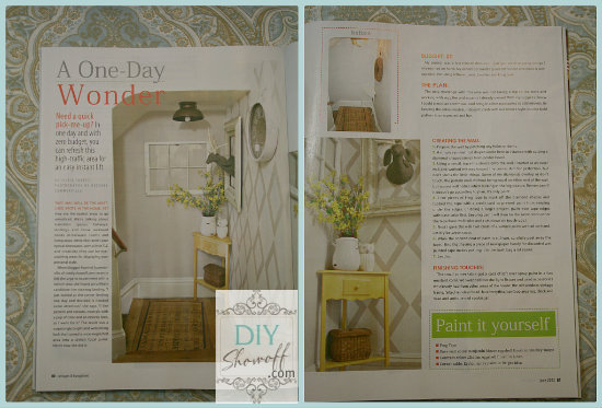 Cottages & Bungalows Magazine - DIY Show Off