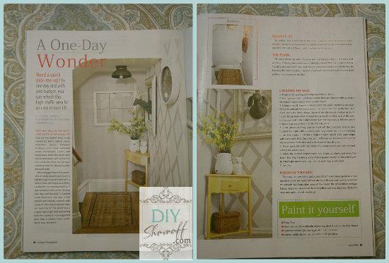 Cottages & Bungalows Magazine - DIY Show Off