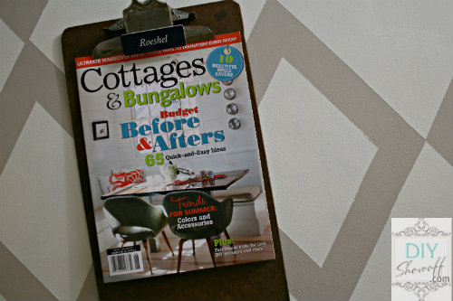 DIY Show Off in Cottages & Bungalows Magazine