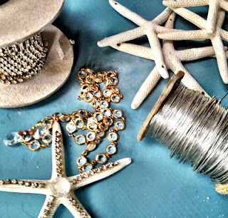 supplies for starfish chandelier